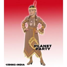 15906C  - DISFRAZ INDIA