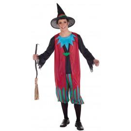 Disfraz brujo Anastasio Adulto Hombre
