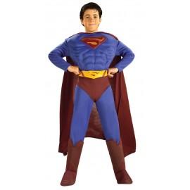 Disfraz Superman Musculoso Infantil Niño