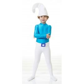 Disfraz de Pitufo Infantil Niño