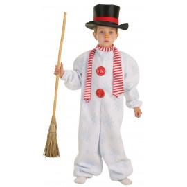 Disfraz Muñeco de Nieve Infantil Niño