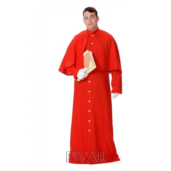 Disfraz Cardenal Adulto Hombre