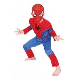 Disfraz Spiderman Musculoso Infantil Niño