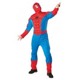 Disfraz Spiderman Musculoso Adulto Hombre