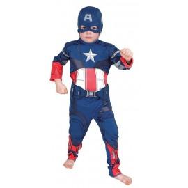Disfraz Capitan America Infantil Niño