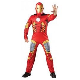 Disfraz Iron Man Musculoso Adulto Hombre