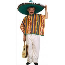 Disfraz Mexicano Infantil Niño