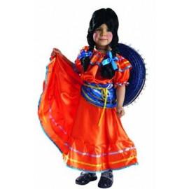 Disfraz Mexicana para Bebe