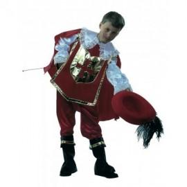 Disfraz Mosquetero Infantil Niño