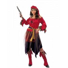 Disfraz Pirata Corsaria Adulto Mujer