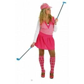 Disfraz Jugadora de Golf Adulto