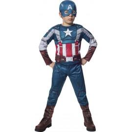 Disfraz Capitán América Reto Infantil Niño