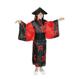Disfraz de China Negra Infantil Niña