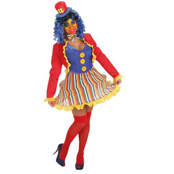 Disfraz Payasa Lola Adulto Mujer