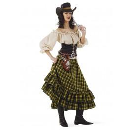 Disfraz Vaquera Bandida Adulto Mujer
