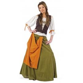 Disfraz Tabernera / Mesonera Medieval Adulto Mujer