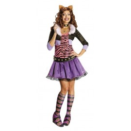 Disfraz Clawdeen Wolf Adulto Halloween (MONSTER HIGH)