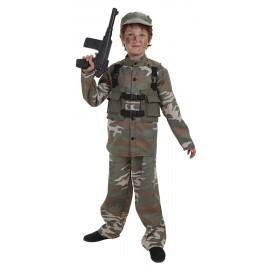 Disfraz Soldado Fuerzas Especiales Infantil Chico