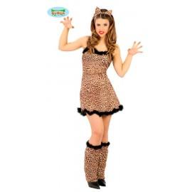 Disfraz Animal Leopardo Adulto Mujer