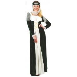 Disfraz Doncella Medieval Adulto Mujer