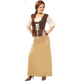 Disfraz Posadera Medieval Adulto Mujer
