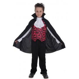 Disfraz Conde Romanov Vampiro Infantil Niño