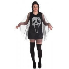 Disfraz Vestido Terror Adulto Mujer