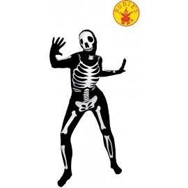 Disfraz de Walking Bones Negro Adulto