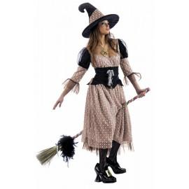 Disfraz Bruja Hechicera Adulto Mujer