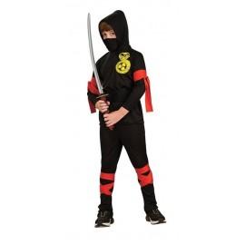 Disfraz Ninja Negro Infantil Niño