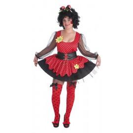 Disfraz Mariquita Adulto Mujer