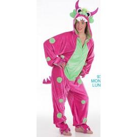 Disfraz Monster Lunares Adulto Mujer