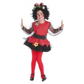 Disfraz de Mariquita Infantil Niña