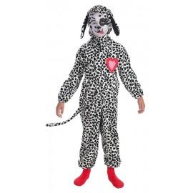Disfraz Dalmata Corazon Infantil Niño