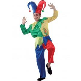 Disfraz de bufón de la corte para niño