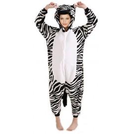 Disfraz de Cebra Adulto Pijama