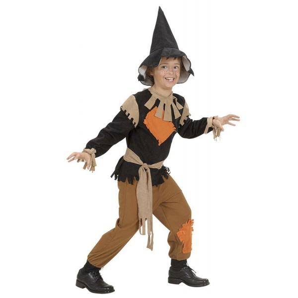 Disfraz de espantapájaros con parches Infantil niño