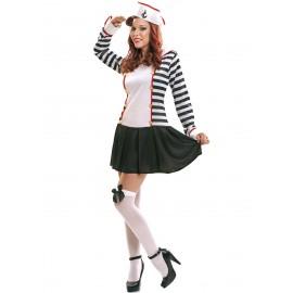 disfraz de marinera elegante para mujer