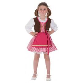 Disfraz Bavara Tirolesa Infantil Niña