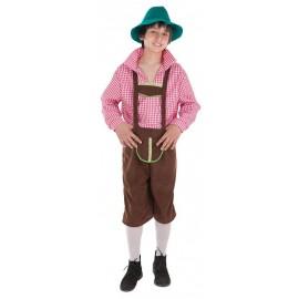 Disfraz Bavaro Tiroles Infantil Adulto
