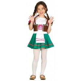 Disfraz de bávara Tirolesa para niña Infantil