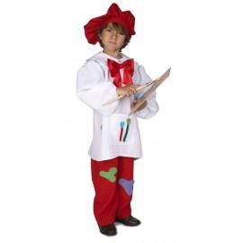 Disfraz Pintor Infantil Niño