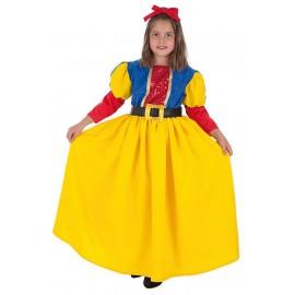 Disfraz de Blanquita Blancanieves Infantil Niña