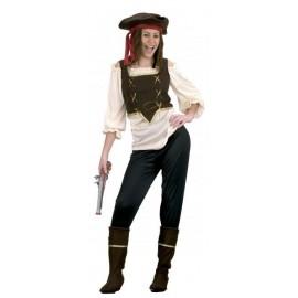 Disfraz Pirata Adulto Mujer