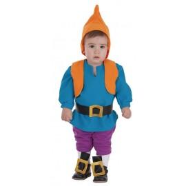 Disfraz Enanito Azul Bebe