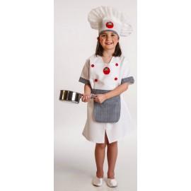 Disfraz Cocinera Infantil Niña