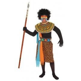 Disfraz Africano Infantil Niño