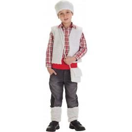 Kit Disfraz Pastor Infantil Navidad Niño