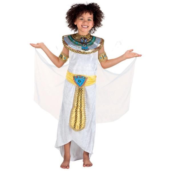 Disfraz de egipcia Anuket para niña