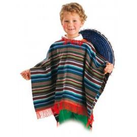 4034 PONCHO MEXICANO INFANTIL